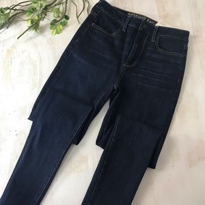 American Eagle High Rise Stretch Jegging Size 4